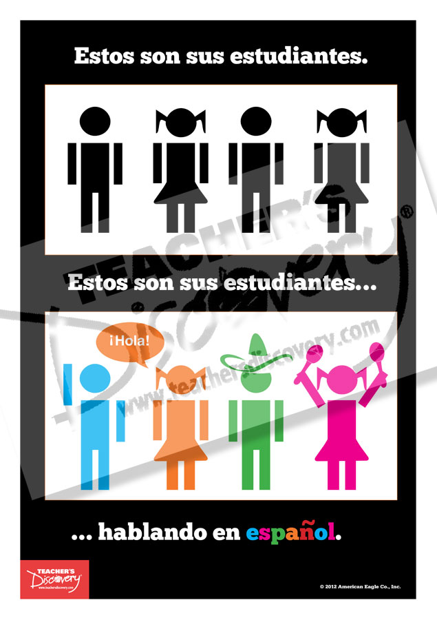 Your Students On Spanish Mini Poster