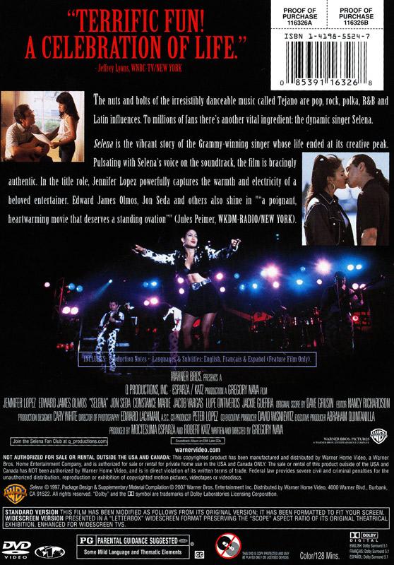 Selena Spanishfrenchenglish Dvd French Teacher's Discovery. Worksheet. Selena Movie Worksheet At Clickcart.co