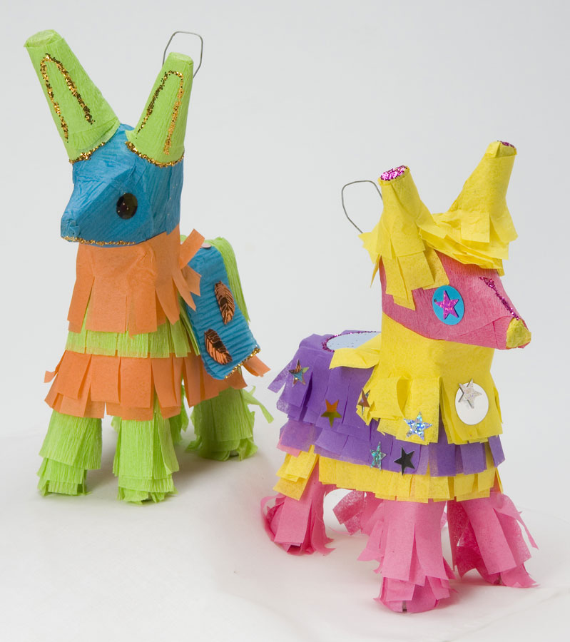 Mini-Burro Piñata Kit