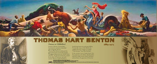 Thomas Hart Benton Traveling Exhibit
