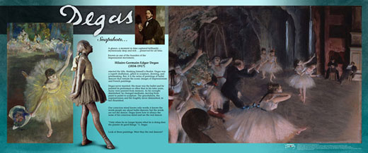 Edgar Degas Traveling Exhibit