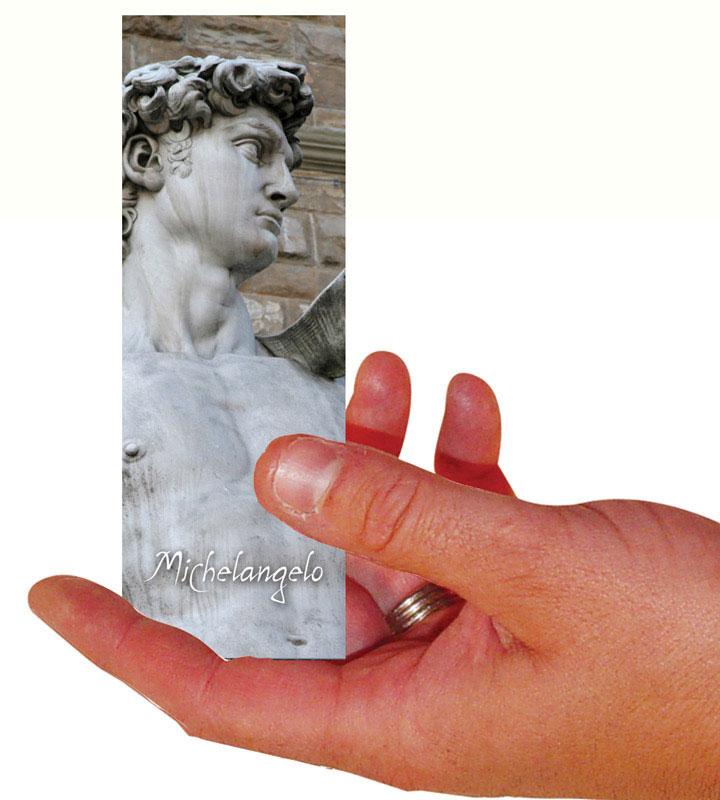 Michelangelo Set Of 100 Bookmarks
