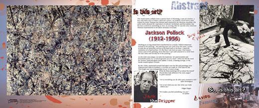 Jackson Pollock Traveling Exhibit