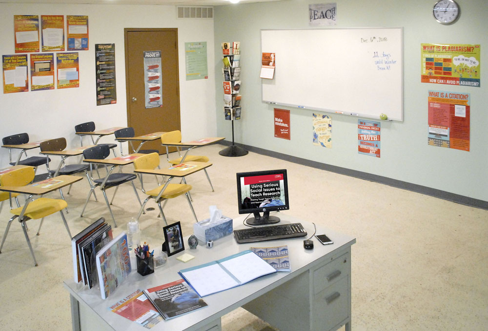 Middle School Research Classroom