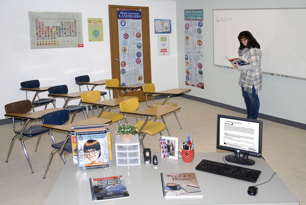 Multicultural Middle School Classroom