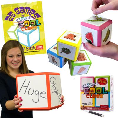 Spanish Mega Set! Erasable Cool Cube™ Set of Everything