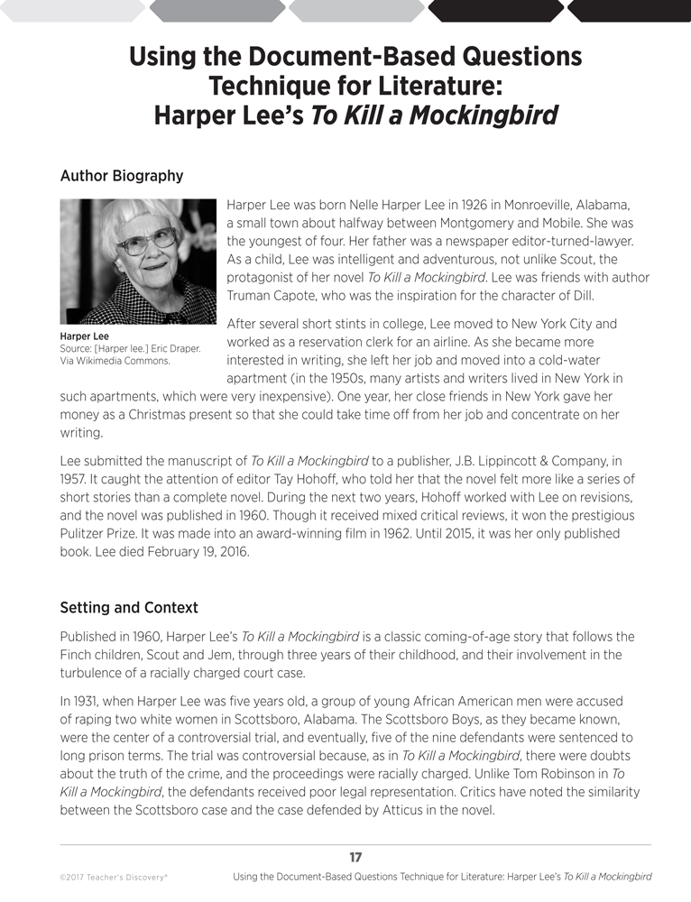 literary analysis of the novel to kill a mockingbird by harper lee Harper lee's coming-of-age tale, to kill a mockingbird, is a searing portrayal of race and prejudice told through the eyes of a little girl.