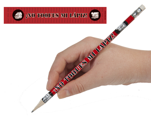 Don't Touch My Pencil Spanish Pencils