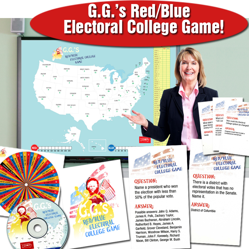 G. G.'s Red/blue Electoral College Game
