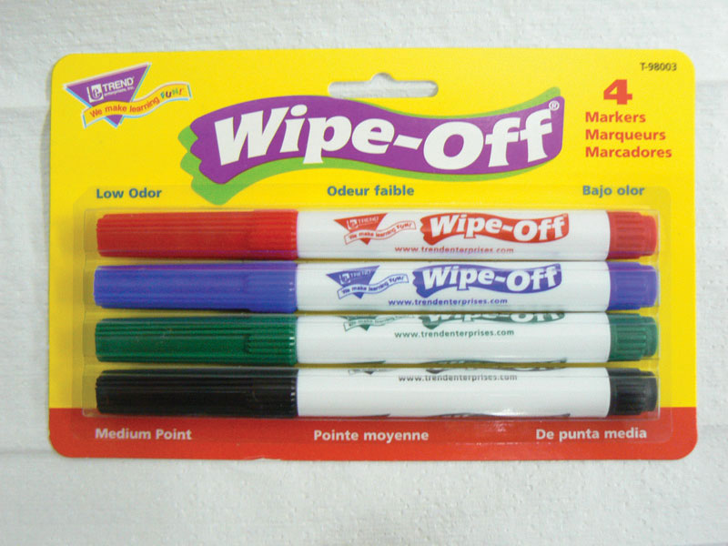 Dry-Erase Markers ~ Set of 4