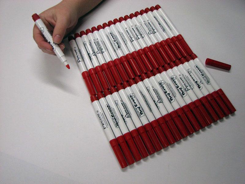 Dri Mark® Red Dry-Erase Marker