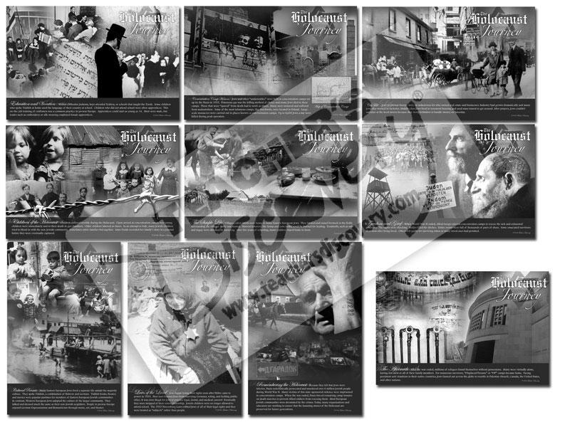 The Holocaust Bulletin Board Set