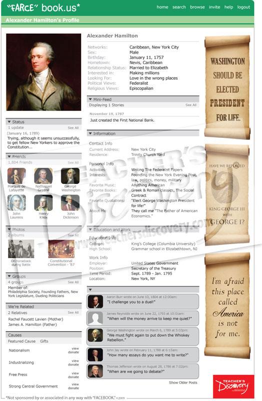 Alexander hamilton farce book poster farcebook posters for Farcical books