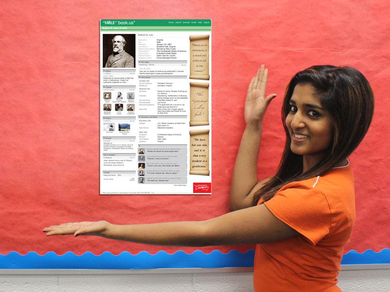 Robert e lee farce book poster social studies teacher 39 s for Farcical webster