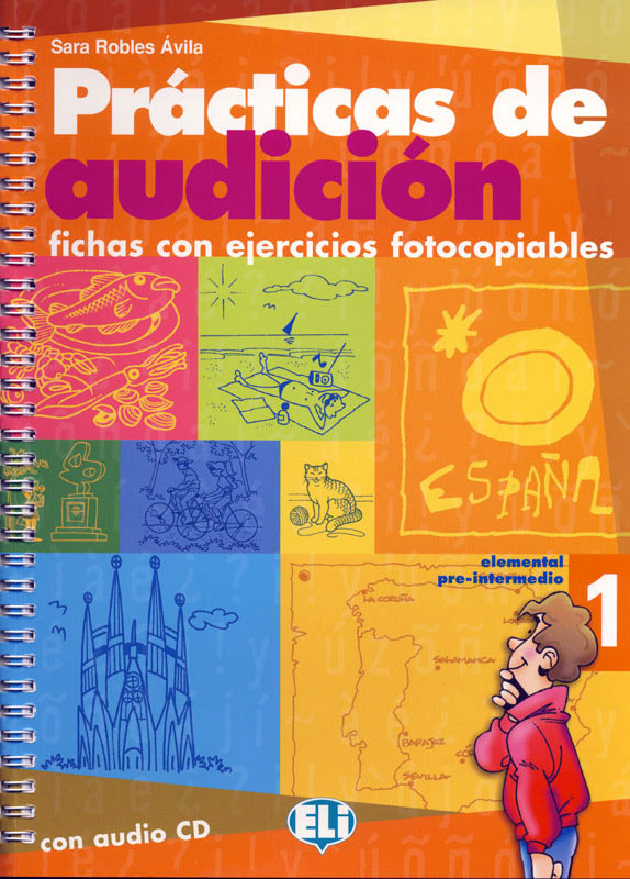 Prácticas de audición 1 Spanish Activity Book and Audio CD