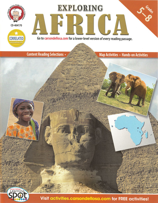 Exploring Africa Activity Book