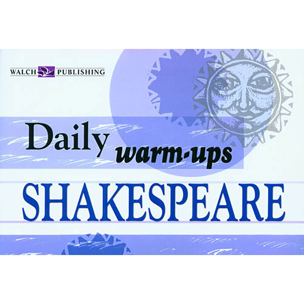 Daily Warm-Ups: Shakespeare II Activity Book