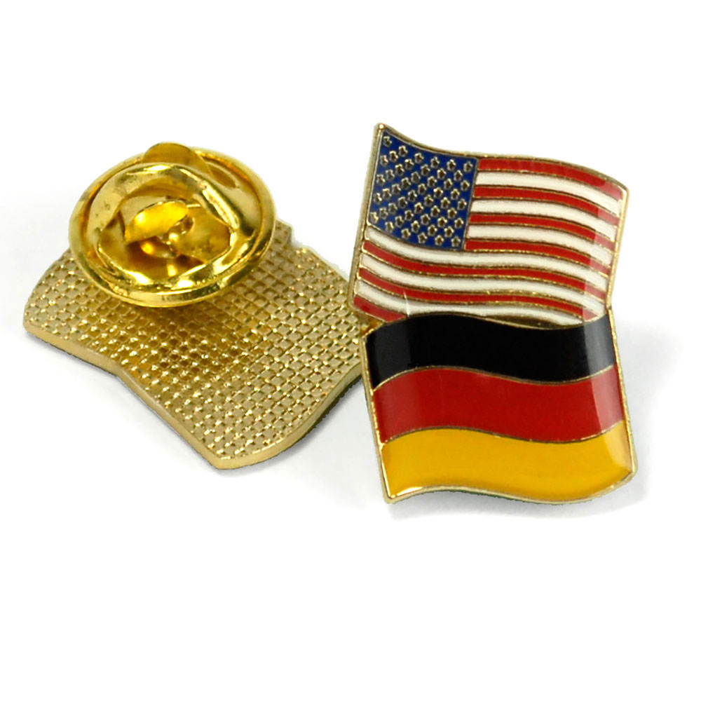 Germany/USA Flag Enhanced™ Pin