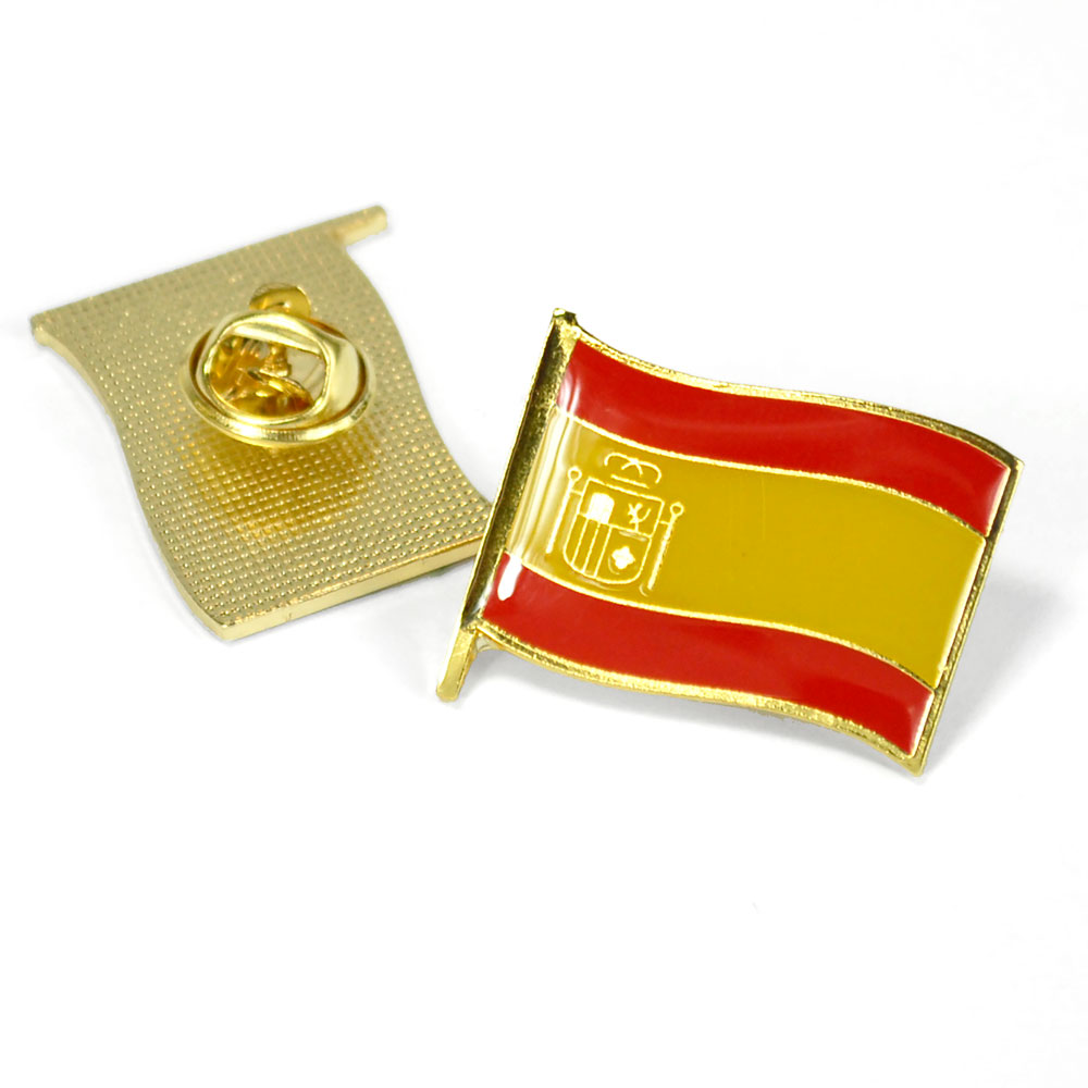 Spanish Flag Pin