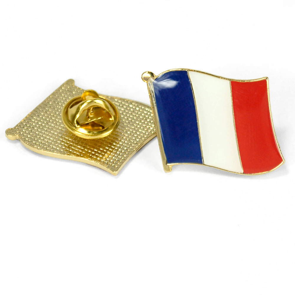 France Flag Enhanced™ Pin