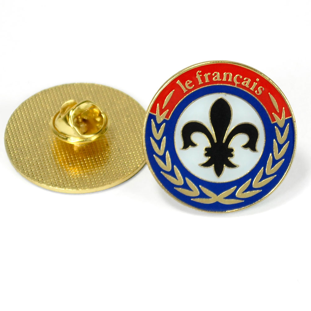 Fleur-De-Lis Enhanced™ Pin