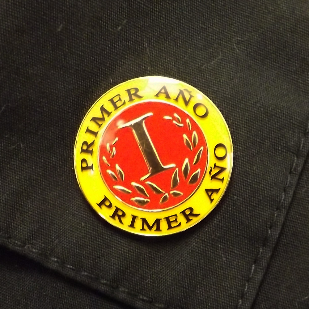 Spanish First-Year Pin