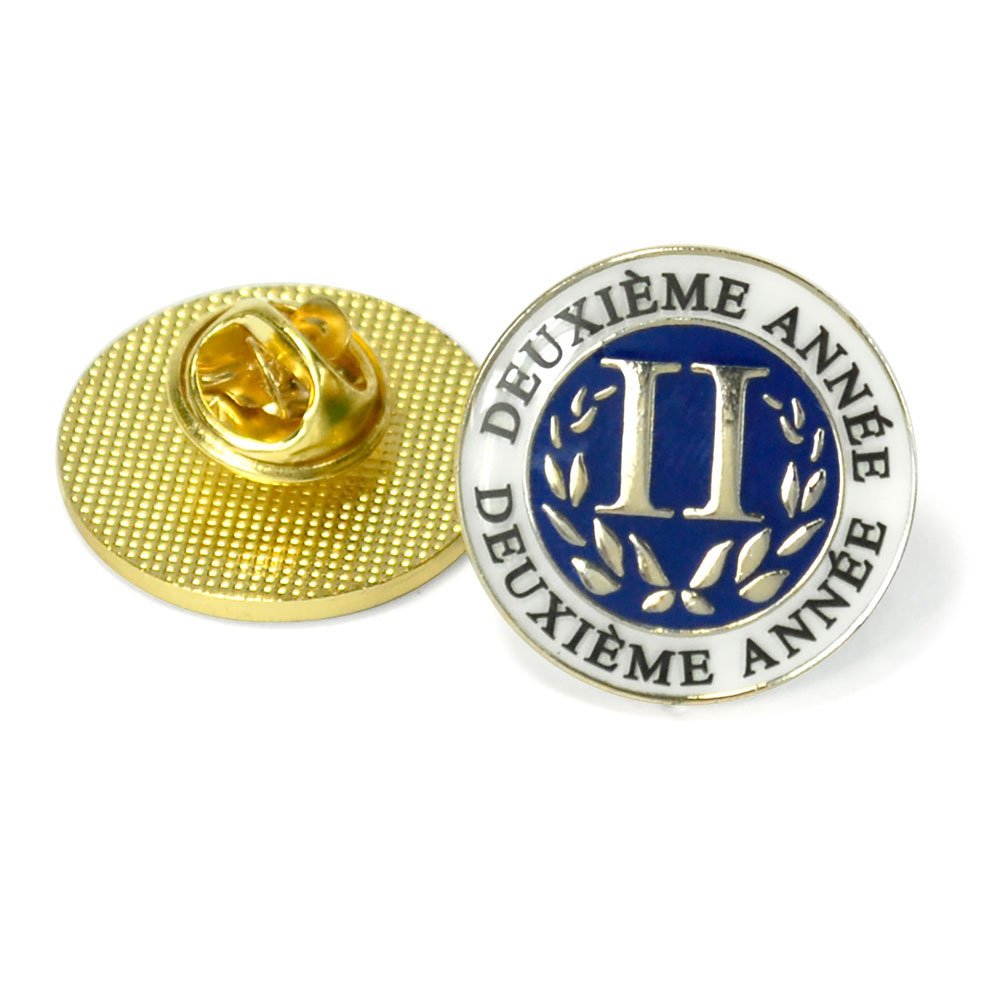 French Second-Year Enhanced™ Pin