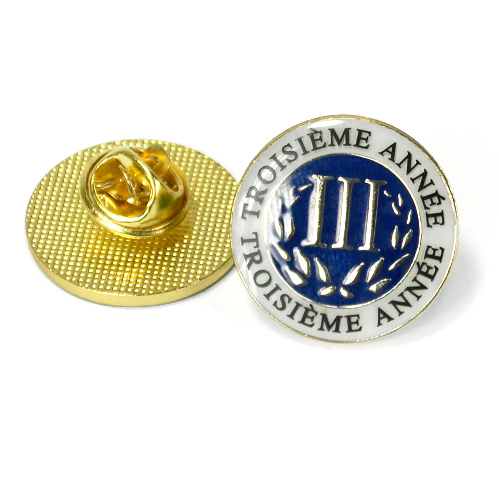 French Third-Year Enhanced™ Pin