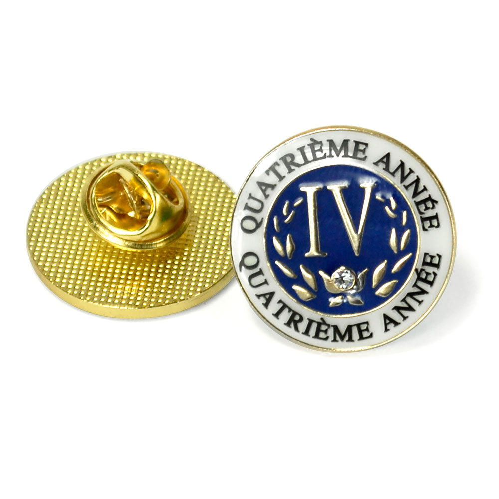 French Fourth-Year Enhanced™ Pin