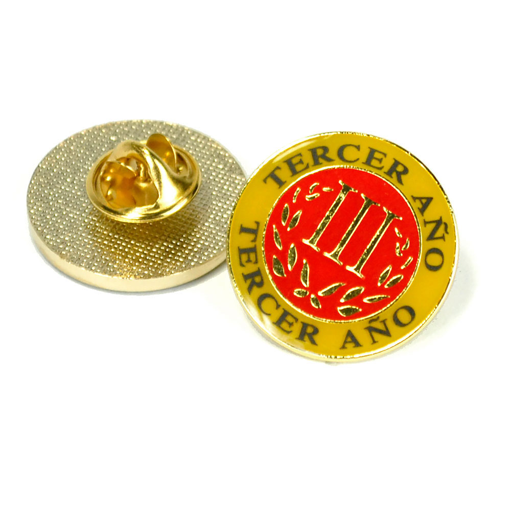Spanish Third-Year Pin