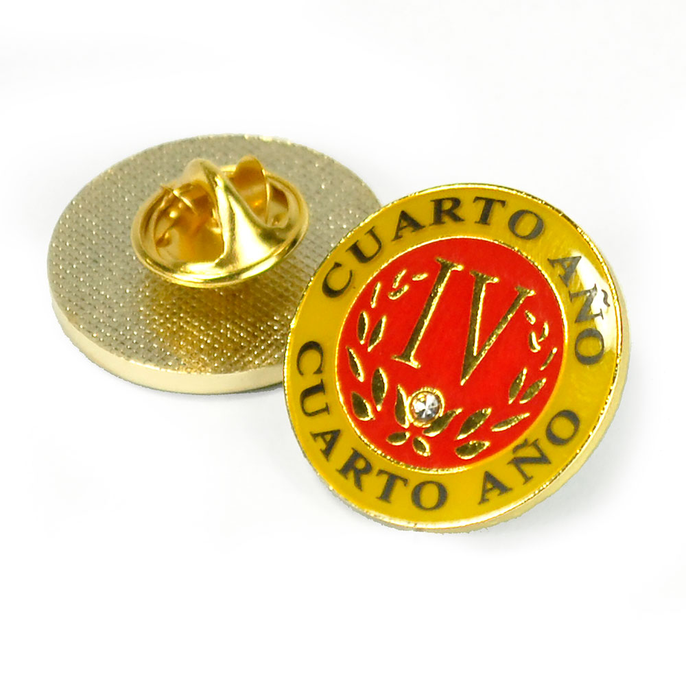 Spanish Fourth-Year Pin