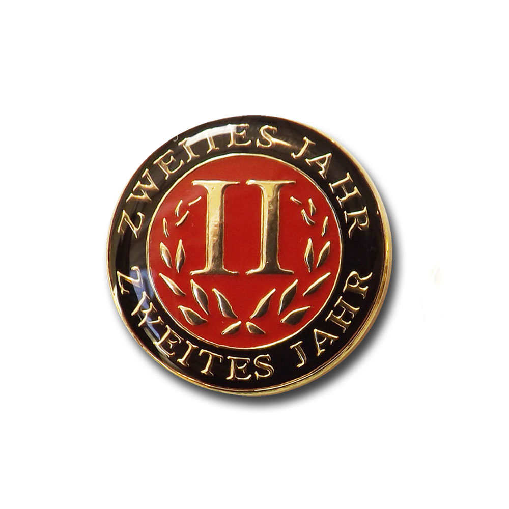 German Second-Year Pin