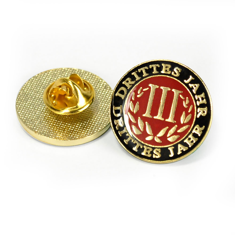 German Third-Year Pin