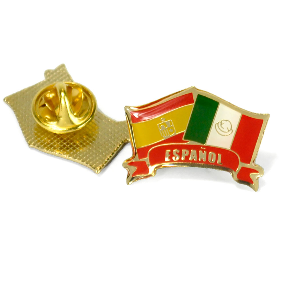 Español Flags Enhanced™ Pin