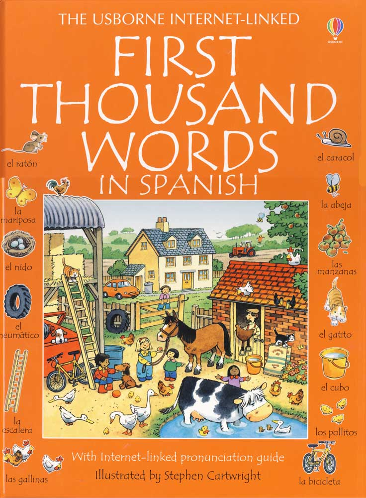 First 1,000 Words in Spanish Dictionary