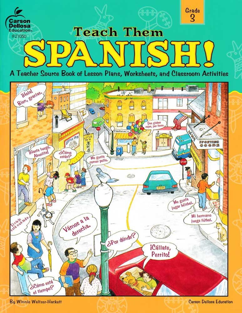 Teach Them Spanish! Grade 3 Book