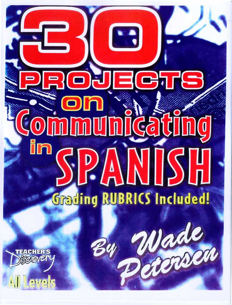30 Projects on Communicating in Spanish Book