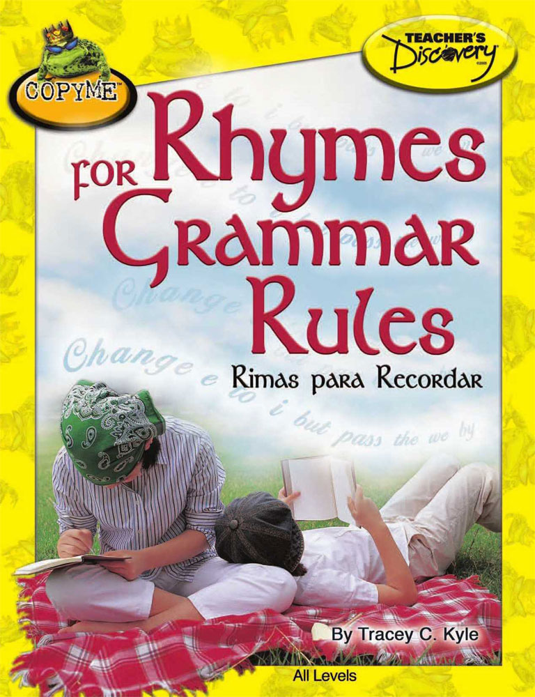 Rhymes for Grammar Rules Spanish Book