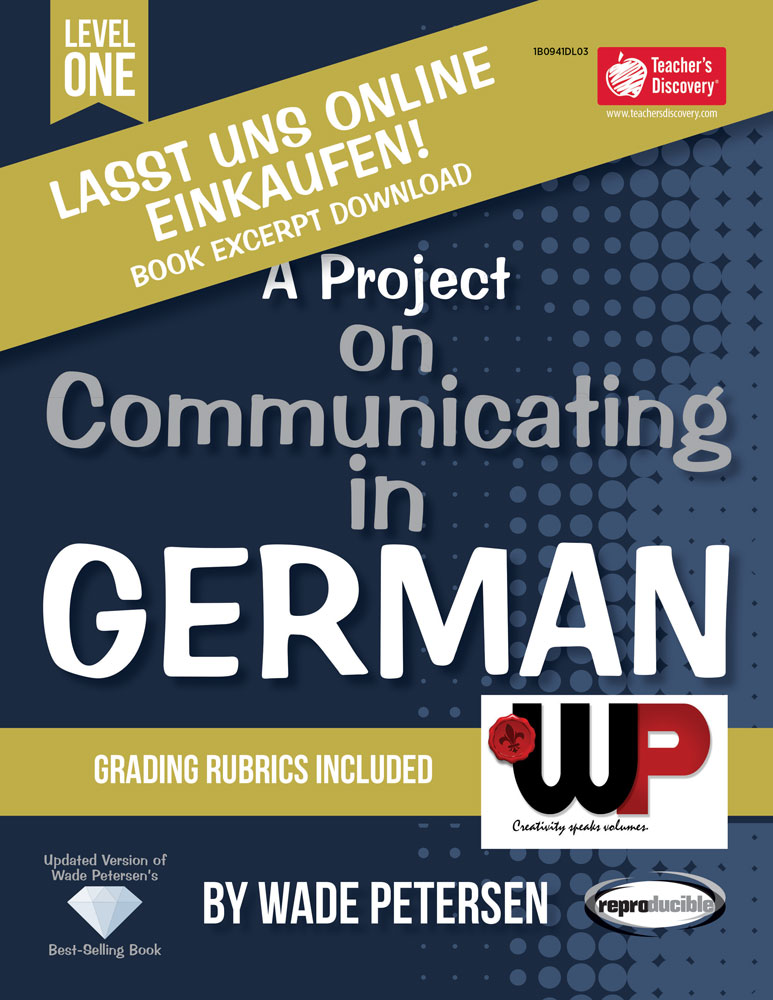 A Project on Communicating in German: Lasst uns online einkaufen! Book Excerpt Download