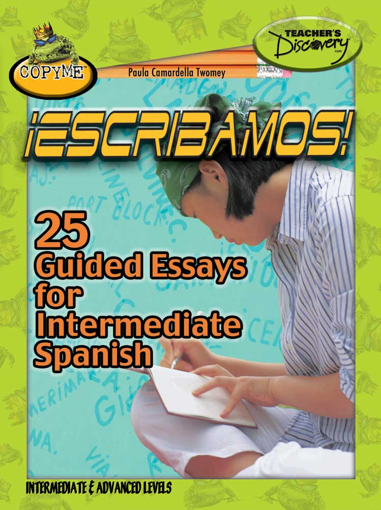 25 Guided Essays Spanish Book