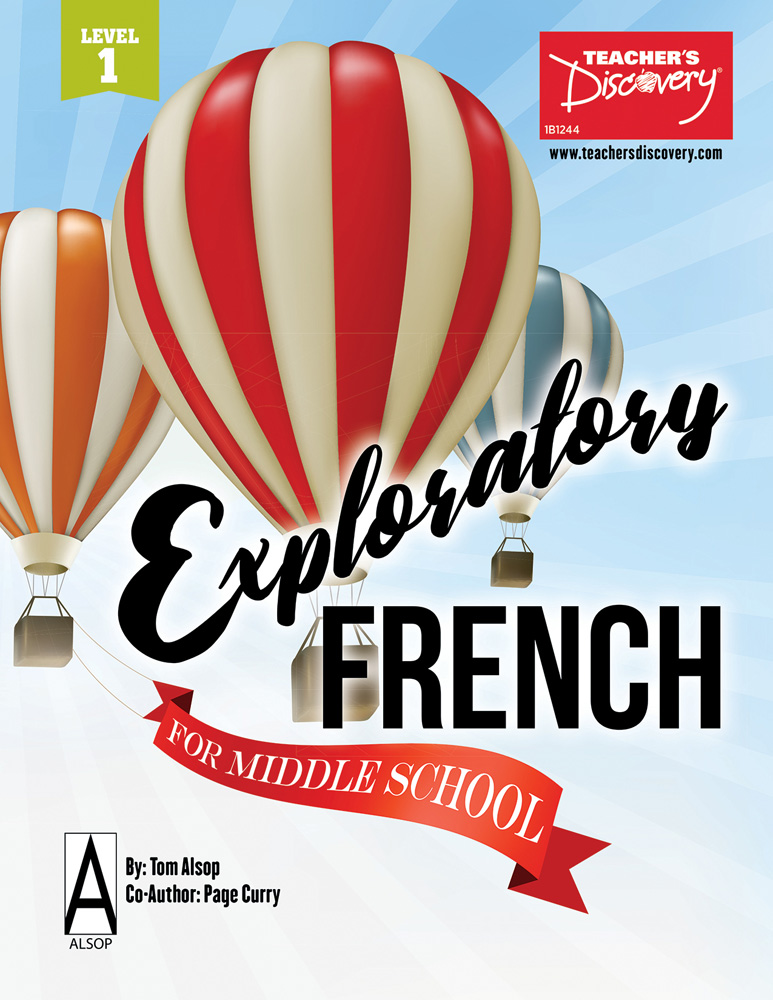 Exploratory French for Middle School Book