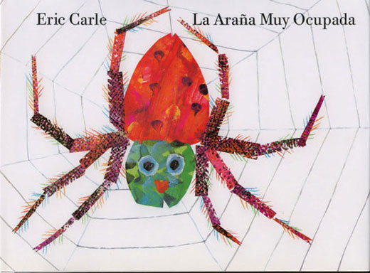 A Very Busy Spider Spanish Reader