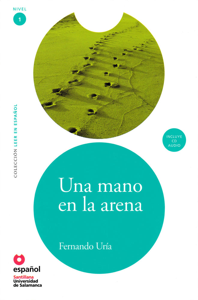 Una mano en la arena Spanish Level 2 Reader with Audio CD