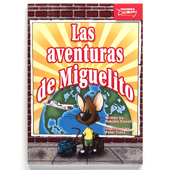 Las aventuras de Miguelito Level 1 Spanish Reader