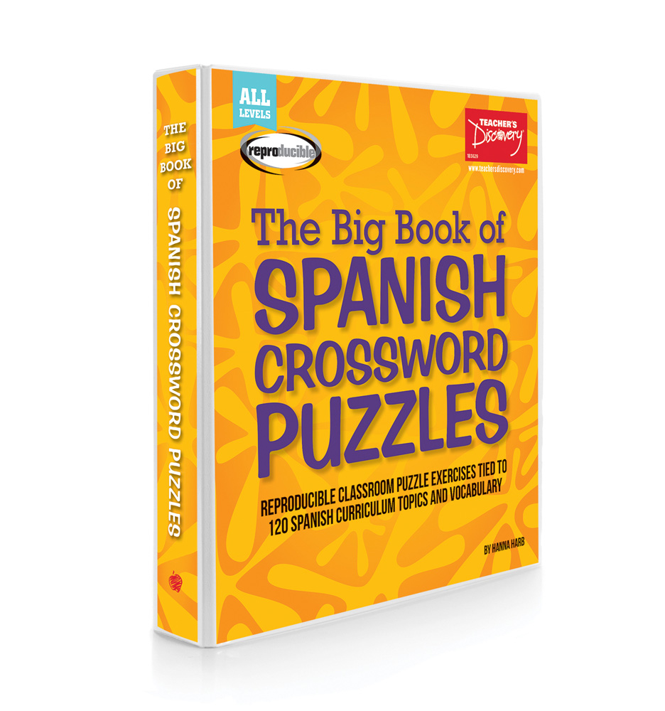 The Big Book Of Spanish Crossword Puzzles Spanish Teachers Discovery