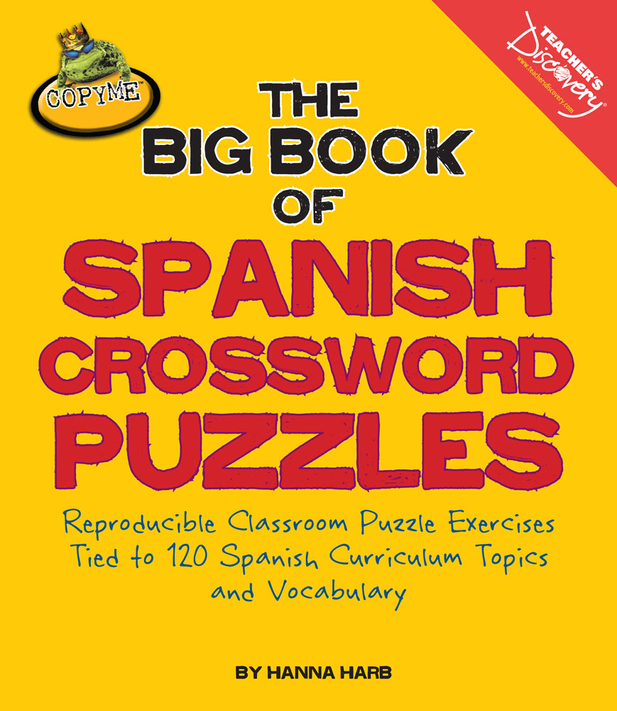 The big book of spanish crossword puzzles spanish for Farcical xword