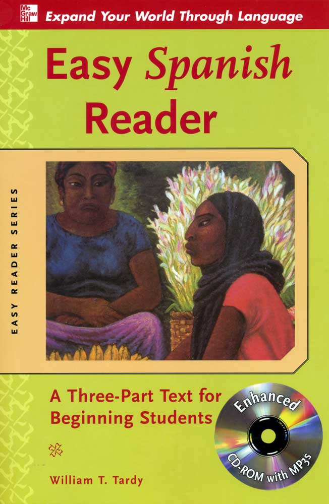 Easy Spanish Reader With Enhanced CD-Rom With MP3s