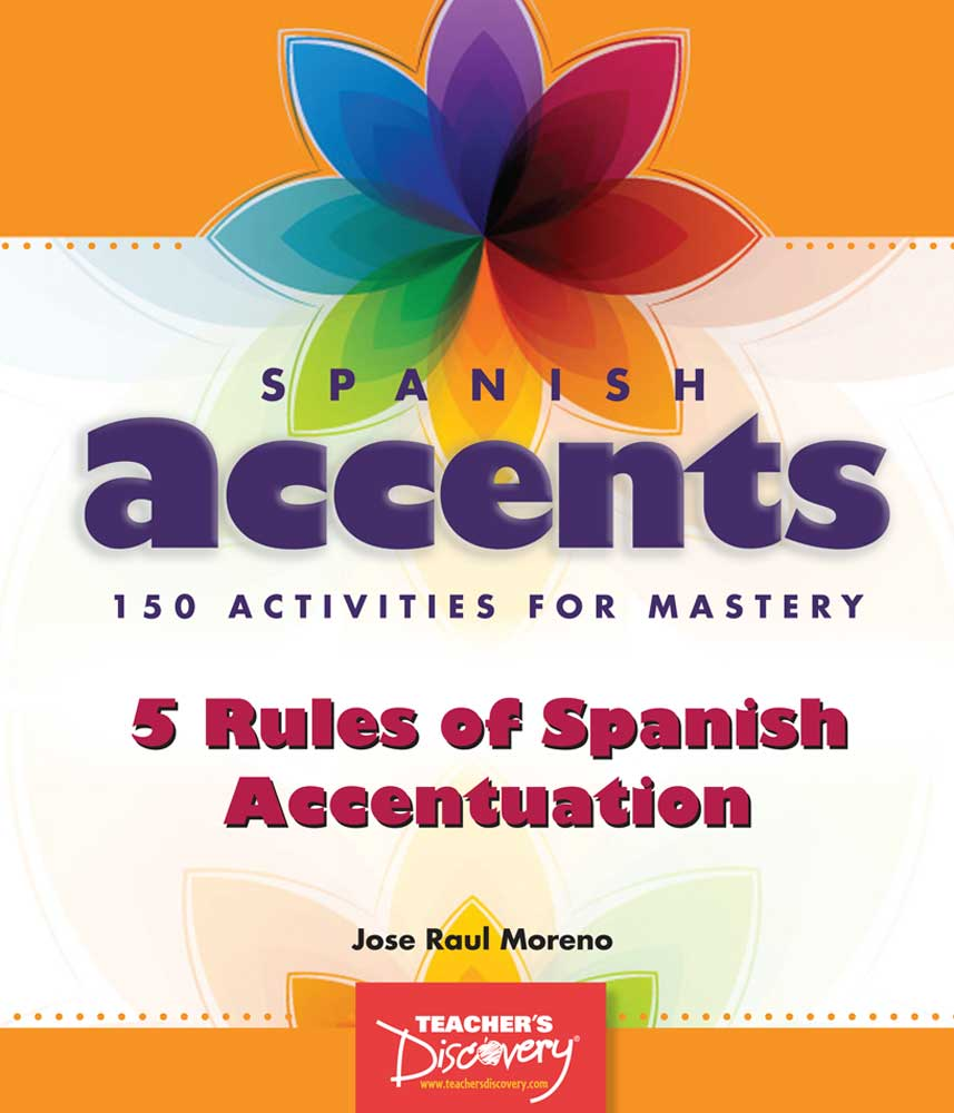 Spanish Accents Activity Book