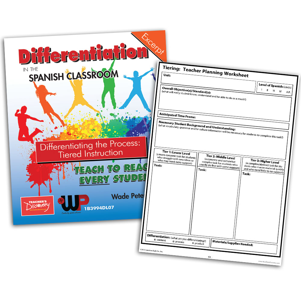 Differentiating the Process: Tiered Instruction - Book Excerpt Download