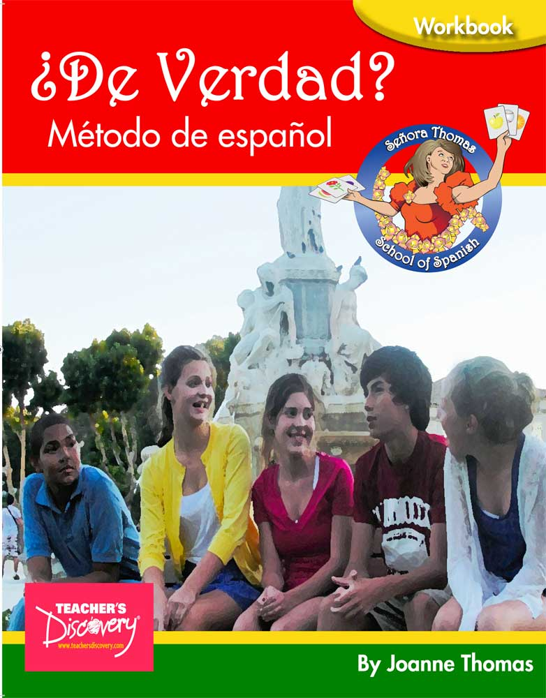 ¿De verdad?  Student Spanish Workbook